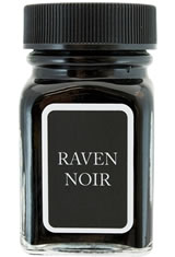 Raven Noir Monteverde Bottled Ink(30ml) Fountain Pen Ink