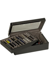 Venlo 20 Pen Display Cases in Carbon Fiber