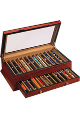 Vox Luxury 24 Pen Display Cases in Rosewood