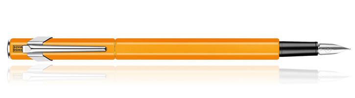 Fluorescent Orange Caran d'Ache 849 Fountain Pens