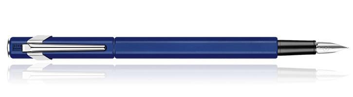 Sapphire Blue Caran d'Ache 849 Fountain Pens