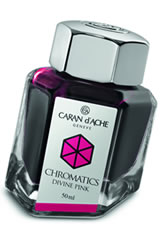 Caran d'Ache Chromatics (50ml) Fountain Pen Ink in Divine Pink