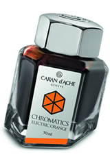 Caran d'Ache Chromatics (50ml) Fountain Pen Ink in Electric Orange