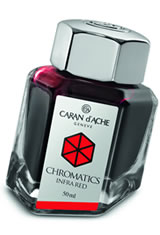Caran d'Ache Chromatics (50ml) Fountain Pen Ink in Infra Red