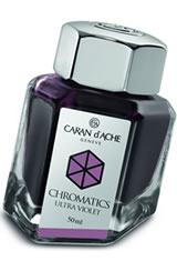 Caran d'Ache Chromatics (50ml) Fountain Pen Ink in Ultra Violet