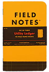 Field Notes Utility Memo & Notebooks