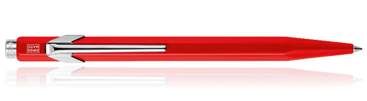 Caran d'Ache 849 Classic Ballpoint Pens in Red