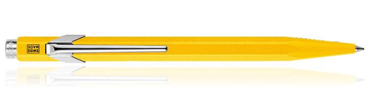 Yellow Caran d'Ache 849 Classic Ballpoint Pens