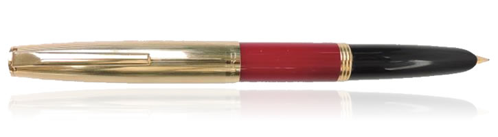 Aurora Vintage Duo-cart Fountain Pens in Burgundy