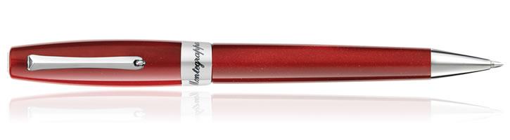 Red Velvet Montegrappa Felicita Ballpoint Pens