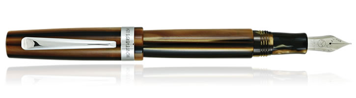 Monteverde Giant Sequoia Fountain Pens in Brown