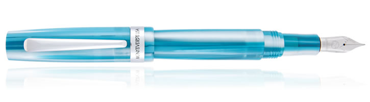 Monteverde Giant Sequoia Fountain Pens in Turquoise