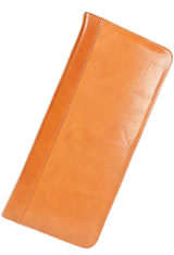Aston Leather 40 Pen Pen Carrying Cases in Tan