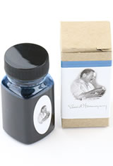 Organics Studio Masters of Writing Fountain Pen Ink in Ernest Hemingway Santiago Sea Blue