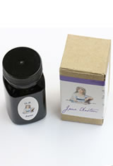 Organics Studio Masters of Writing Fountain Pen Ink in Jane Austen Violet