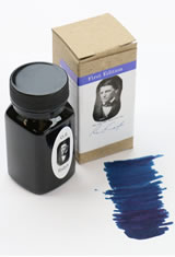 Organics Studio Masters of Writing Fountain Pen Ink in Ralph Waldo Emerson Twilight Blue