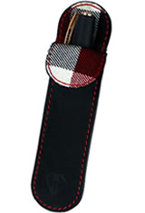 Dee Charles Designs Single Sleeve Pen Carrying Cases in Midnight Red