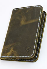 Dee Charles Designs Notebook Cover & Pen Carrying Cases in Rawhide Blue