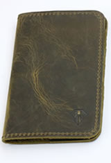 Dee Charles Designs Notebook Cover & Pen Carrying Cases in Rawhide Brown