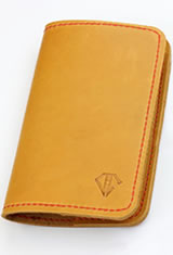 Dee Charles Designs Notebook Cover & Pen Carrying Cases in Sunrise Red