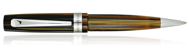 Monteverde Giant Sequoia Ballpoint Pens in Brown