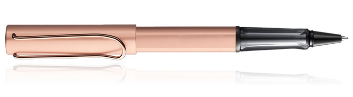Lamy LX Rollerball Pens in Rose Gold