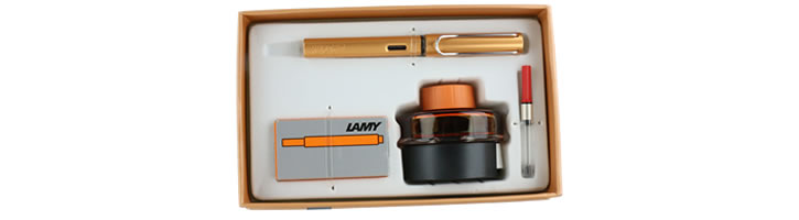 Lamy Gift Set - Ink & AL-Star Fountain Pens