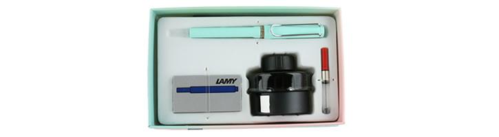 Lamy Gift Set - Ink & Safari Fountain Pens