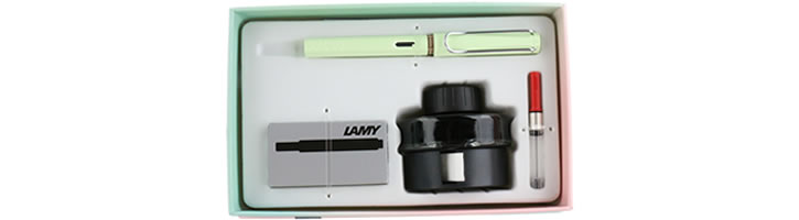 Lamy Gift Set - Ink & Safari Fountain Pens in Mint