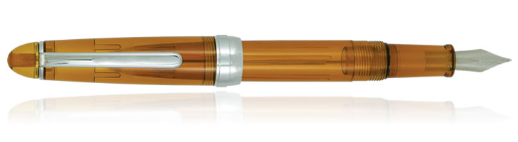 Monteverde Monza Fountain Pens in Honey Amber