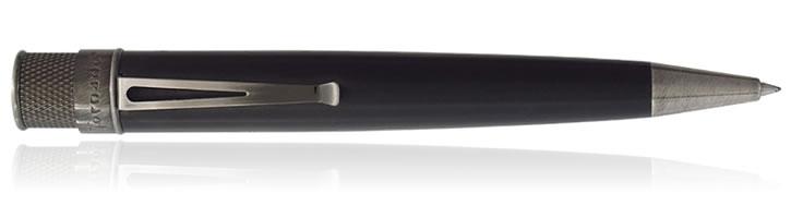 Black Titanium Retro 51 Tornado Big Shot Rollerball Pens