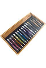 Retro 51 Bamboo 16 Pen Display Cases