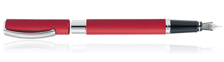 Online Vision Fountain Pens in Red