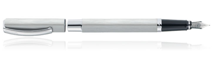 Online Vision Fountain Pens in Silver