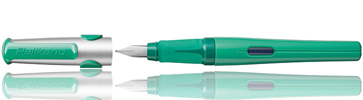 Pelikan Pelikano Fountain Pens in Green