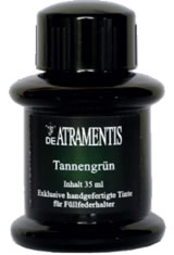 Pine Green De Atramentis Standard (35ml) Fountain Pen Ink