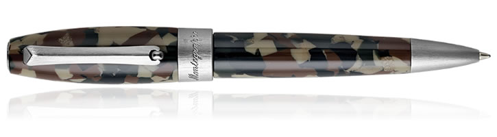 Montegrappa Fortuna Camouflage Ballpoint Pens in Camouflage