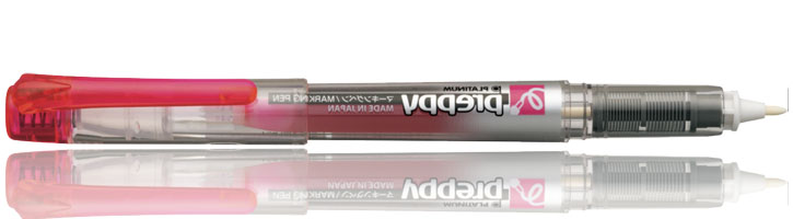 Platinum Preppy Marker  in Pink