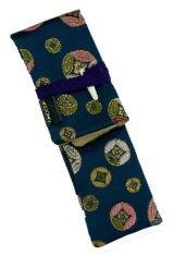 Nishijin Edo Komon Taccia Kimono Wrap Single Pen Carrying Cases