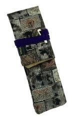 Nishijin Mosaic Taccia Kimono Wrap Single Pen Carrying Cases