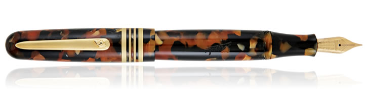 Stipula Etruria Tortoise Fountain Pens in Tortoise