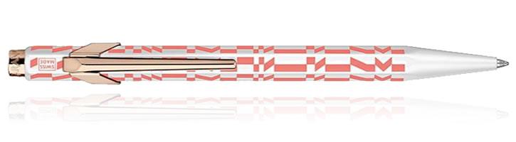 Pink Caran d'Ache 849 Alexander Girard Ballpoint Pens