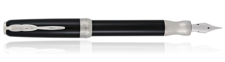 Uber Black Pineider La Grande Bellezza Gemstone Fountain Pens