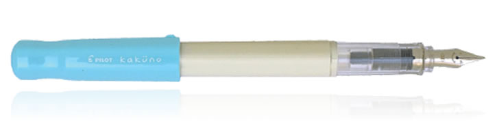 Pilot Kakuno Fountain Pens in White Turquoise