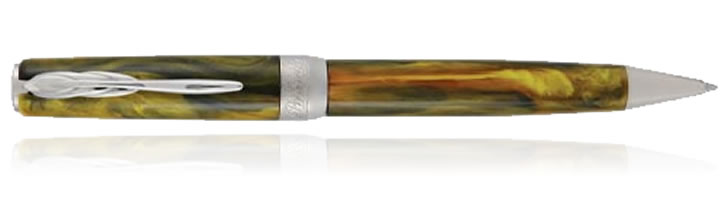 Tigers Yellow Pineider La Grande Bellezza Gemstone Ballpoint Pens