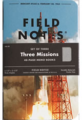 Field Notes Three Missions Memo & Notebooks