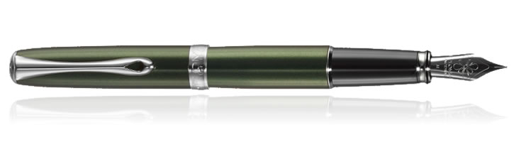 Evergreen Chrome Diplomat Excellence A2 Fountain Pens
