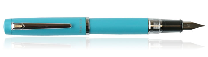 Platinum Procyon Fountain Pens in Turquoise Blue