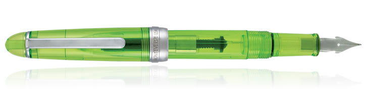 Monteverde Monza Flex Fountain Pens in Jolly Green