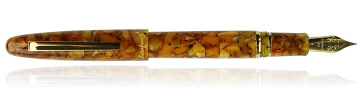 Honeycomb Gold Esterbrook Estie Fountain Pens